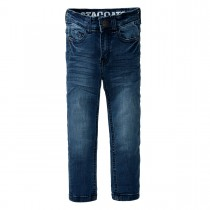 Skinny Jeans LOUIS Regular Fit - Mid Blue Denim