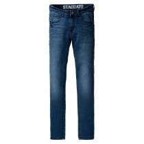 Skinny Jeans HENRI Regular Fit - Mid Blue Denim