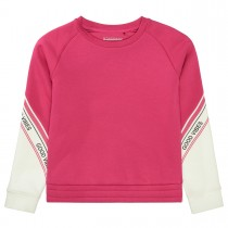Sweatshirt GOOD VIBES - Fuchsia