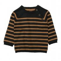Streifen-Pullover  - Tinte