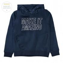 Kapuzen Sweatshirt AMAZING - Deep Tinte