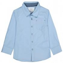 Hemd mit Brusttasche - Oxford Blue