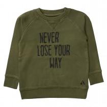 BASEFIELD Sweatshirt - Dark Olive