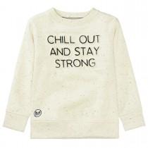 BASEFIELD Sweatshirt mit Neppys - Ecru