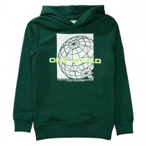 Hoodie ONE WORLD - Forest Green