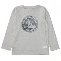 BASEFIELD Shirt 1/1 Arm Slim Fit - Dark Silver