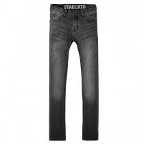 Skinny-Jeans Slim Fit - Black Denim