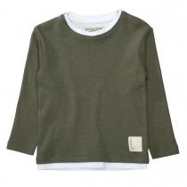BASEFIELD Pullover - Dark Olive