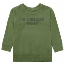 Sweatshirt mit Raglan-Ärmeln - Turtle Green