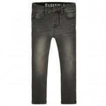BASEFIELD Skinny Jeans Regular Fit mit Abriebeffekt - Mid Grey