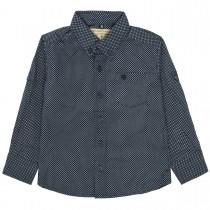 BASEFIELD Hemd mit Allover-Print - Midnight