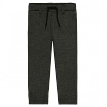 Elegante Jogging Pants mit Tunnelzug - Dark Anthra