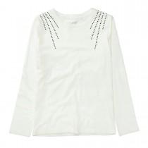 Langarmshirt - Offwhite
