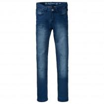 Skinny Jeans Slim Fit - Mid Blue Denim