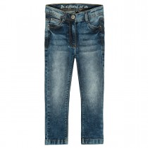 Mädchen Skinny Jeans Slim Fit - Mid Blue Denim