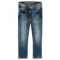 Mädchen Skinny Jeans Regular Fit -  - Mid Blue Denim
