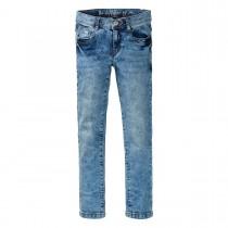 Mädchen Skinny  Jeans Regular Fit - Mid Blue Denim