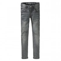Mädchen Skinny Jeans Regular Fit - Grey Denim