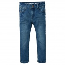 Skinny Jeans Regular Fit - Mid Blue Denim