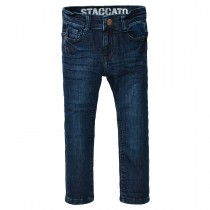 Skinny Jeans Regular Fit - Dark Blue Denim