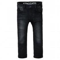 Skinny Jeans Regular Fit - Black Denim