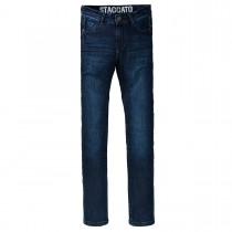 Skinny Jeans Slim Fit - Dark Blue Denim