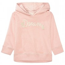 BASEFIELD Kapuzensweatshirt DREAM mit Wording - Blush Rose