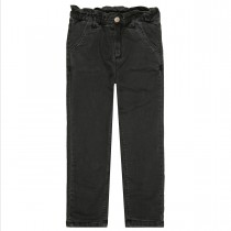 BASEFIELD Girls Thermojeans - Anthra Denim