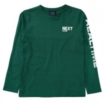 Langarmshirt REALTIME - Forest Green