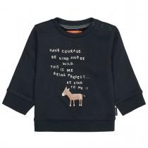 Sweatshirt mit Print - Tinte