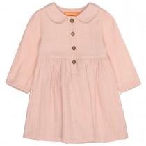 Musselin-Kleid mit Kopf-Details - Cold Blush