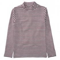 Streifenshirt  - Soft Silver Melange mit super softer Haptik