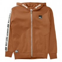 Kapuzensweatjacke NEXT LEVEL - Copper Brown
