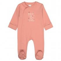 ORGANIC COTTON Pyjama STARS  - Dusty Peach