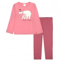 Pyjama STAY COOL - Rouge Melange