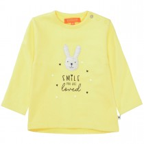 Sweatshirt Smile mit Hasen-Applikation - Sun