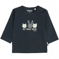 ORGANIC COTTON Langarmshirt BEST FRIENDS - Soft Marine