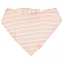 ORGANIC COTTON Tuch mit Allover-Print - Soft Blush Streifen