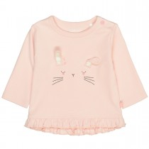 ORGANIC COTTON Langarmshirt HASE - Soft Blush