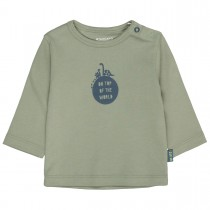 ORGANIC COTTON Langarmshirt TOP OF THE WORLD - Soft Olive
