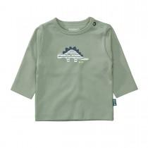 ORGANIC COTTON Langarmshirt DINO - Soft Olive