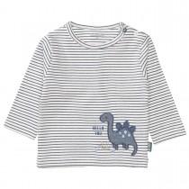 ORGANIC COTTON Streifenshirt - Offwhite