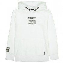 Hoodie TRUST YOUR MIND - White