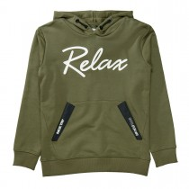 Hoodie Relax - Olive