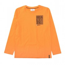 Langarmshirt REALITY - Bright Orange