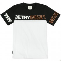 T-Shirt NICE TRY - Black White