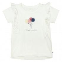 BASEFIELD T-Shirt SO LOVELY - Offwhite