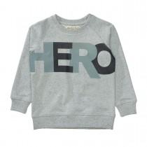 BASEFIELD Sweatshirt HERO - Grey Melange