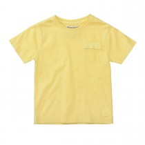 BASEFIELD T-Shirt mit Brusttasche - Yellow