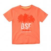BASEFIELD T-Shirt mit Print - Fire Orange